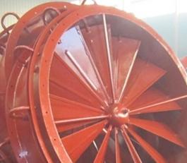 公司专利:风机调风门
